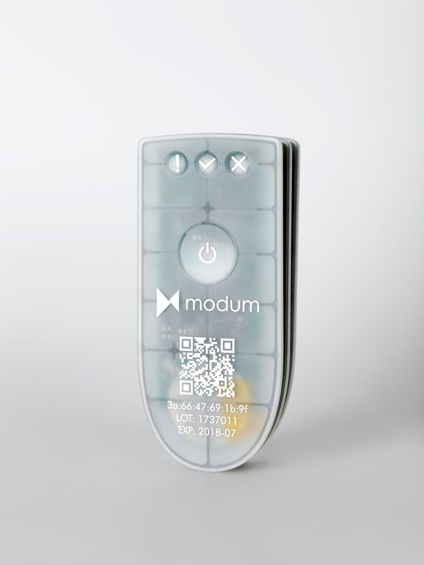 The modum sensor will be released early 2018.